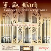 Album artwork for J.S. Bach: Concerto Transcriptions for Organ