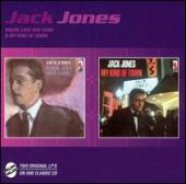 Album artwork for Jack Jones - Where love has gone & My kind of town