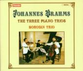 Album artwork for Brahms: PIANO TRIOS / Borodin Trio