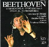 Album artwork for Beethoven: Symphonies 8 & 1 & Overture to Prometh