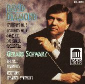 Album artwork for David Diamond:  Symphonies