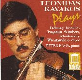 Album artwork for Leonidas Kavakos plays Debussy, Kreisler, Paganini