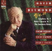 Album artwork for David Diamond, Volume 3