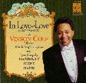 Album artwork for In Love With Love: J'Aime L'Amour - Vinson Cole