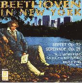Album artwork for Beethoven In New York