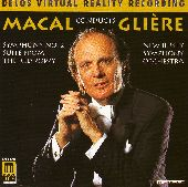 Album artwork for Macal conducts Gliere - Sym No 2