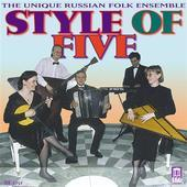 Album artwork for STYLE OF FIVE