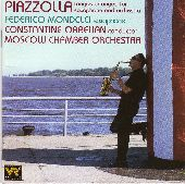 Album artwork for Piazzolla Tangos Arranged for Saxophone and Orches