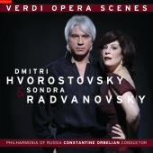 Album artwork for Verdi Opera Scenes: Hvorostovsky & Radvanovsky