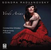 Album artwork for Sondra Radvanovsky: Verdi Arias