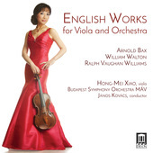 Album artwork for English Works for Viola & Orchestra