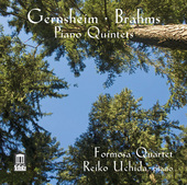 Album artwork for Gernsheim - Brahms: Piano Quintets