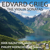 Album artwork for Grieg: The Violin Sonatas