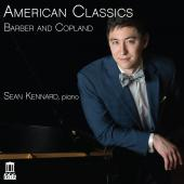 Album artwork for American Classics: Barber & Copland / Kennard