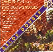 Album artwork for David Shifrin presents Two Brahms Soirees