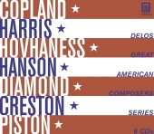 Album artwork for Delos Great American Composers Series