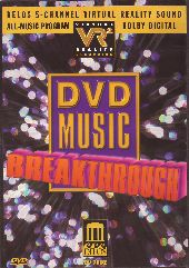Album artwork for DVD Music Breakthrough: Over 93 Minutes Of Music!