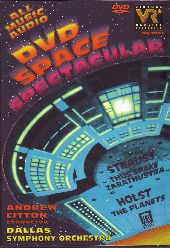 Album artwork for DVD Space Spectacular: All Music Audio