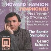 Album artwork for Howard Hanson: SYMPHONIES 1 & 2