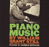 Album artwork for Piano Music by William Grant Still and other Black