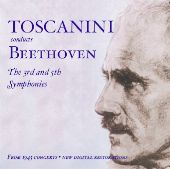 Album artwork for Toscanini conducts Beethoven: Symphonies 3 & 5