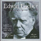 Album artwork for EDWIN FISCHER - THE LEGACY OF A GREAT PIANIST