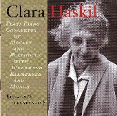 Album artwork for Clara Haskil: 1954-1956 Concertos