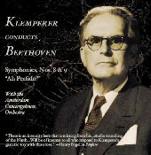 Album artwork for KLEMPERER CONDUCTS BEETHOVEN