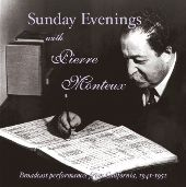 Album artwork for SUNDAY EVENINGS WITH PIERRE MONTEUX
