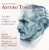 Album artwork for TOSCANINI: COMPLETE CONCERT OF MARCH 21, 1954