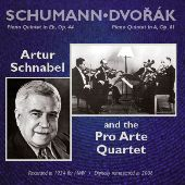 Album artwork for SCHUMANN - PIANO QUINTET IN E FLAT / DVORAK: PIANO