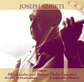 Album artwork for Mendelssohn/Brahms: Violin Concertos (Szigeti)