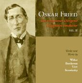 Album artwork for OSKAR FRIED - A FORGOTTEN CONDUCTOR, VOL. 3