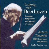 Album artwork for Arturo Toscanini's 1939 Beethoven Cycle / NBC SO