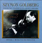 Album artwork for Szymon Goldberg: The Centenary Collection - Vol.II