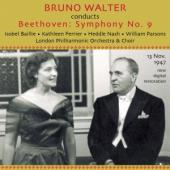 Album artwork for Beethoven: Symphony 9 / Walter, Ferrier, LPO