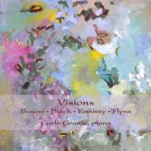 Album artwork for Visions: Piano Works, Carlo Grante