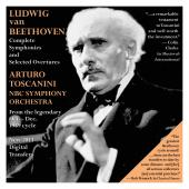 Album artwork for Toscanini's 1939 Beethoven Cycle