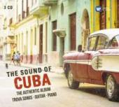 Album artwork for The Sound of Cuba (Trova Songs / Guitar / Piano)