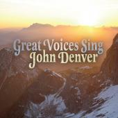 Album artwork for Great Voices Sing John Denver