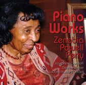 Album artwork for Zenobia Powell Perry: Piano Works