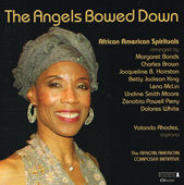Album artwork for The Angels Bowed Down: African American Spirituals