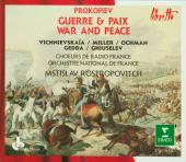 Album artwork for WAR AND PEACE - GUERRE & PAIX