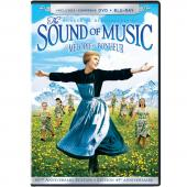 Album artwork for Sound of Music DVD + Blu-ray
