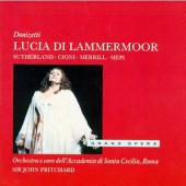 Album artwork for Donizetti: Lucia di Lammermoor / Sutherland, Cioni