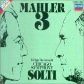 Album artwork for Mahler: Symphony #3 / Dernesch, Solti, CSO