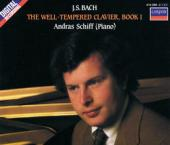 Album artwork for Bach: The Well Tempered Clavier, Book 1 / Schiff