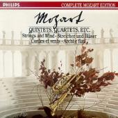 Album artwork for Mozart: Quintets, Quartets, Strings & Wind, etc