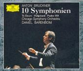 Album artwork for Bruckner: 10 Symphonies, Te Deum, etc / Barenboim