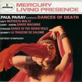 Album artwork for Paul Paray conducts Dances of Death / DSO